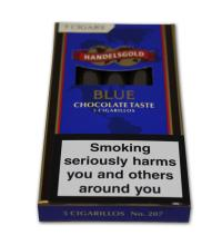 Handelsgold Flavoured Cigarillos Blue (Chocolate) – Pack of 5